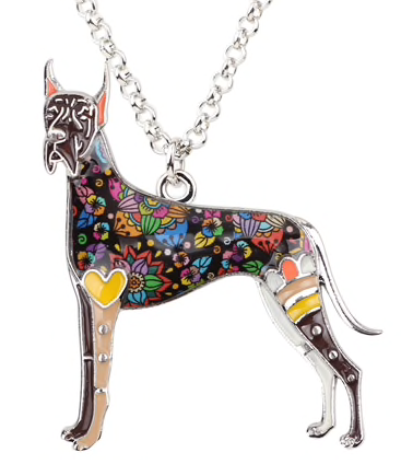 Best In Show Collection Great Dane (Cropped Ears) Pendant Necklace