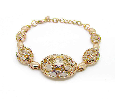 High Quality Gold Plated Link Bracelet