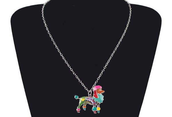 Best In Show Collection Poodle Pendant Necklace