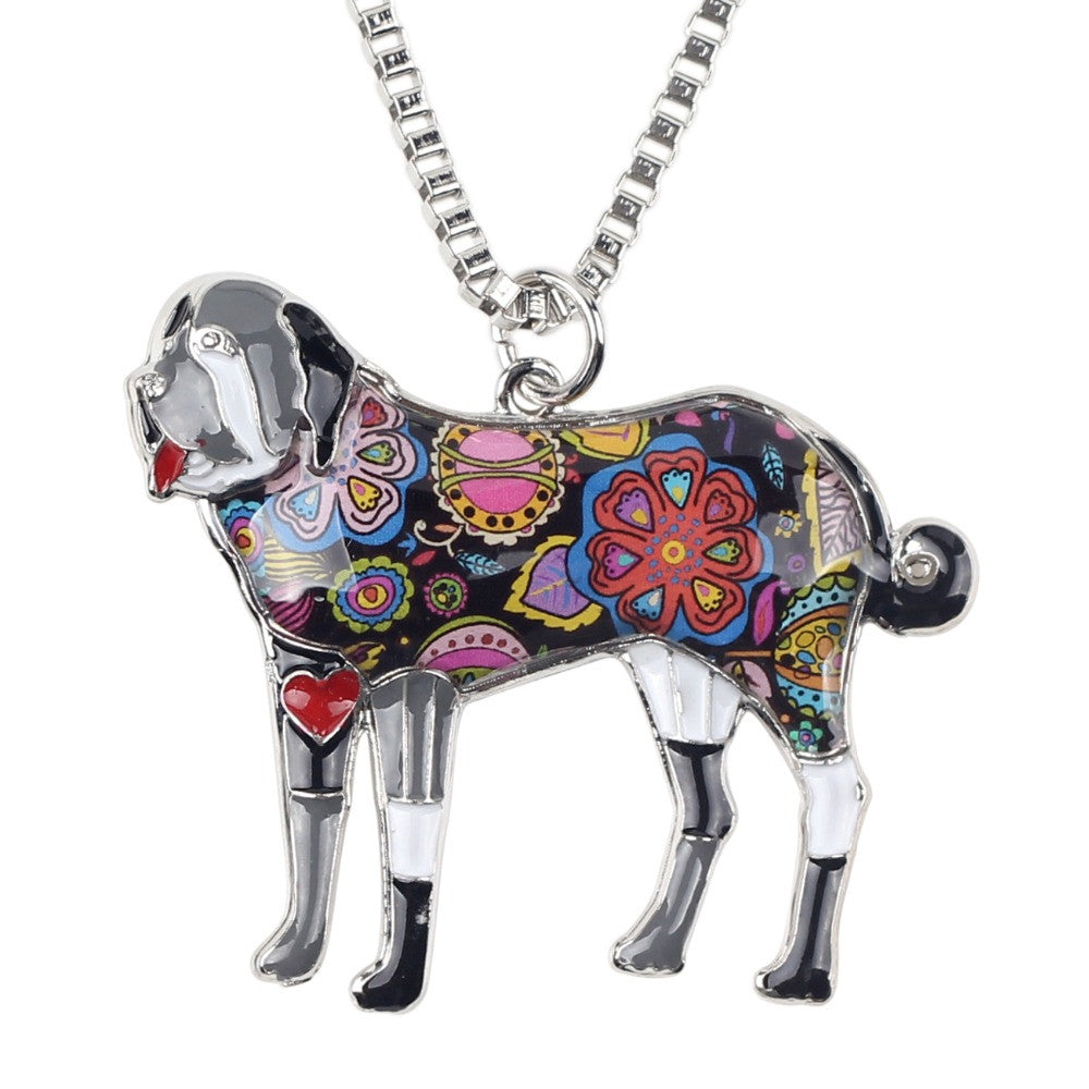 Best In Show Collection Saint Bernard Pendant Necklace