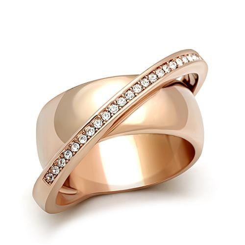 Rings, Rose Gold, Austrian Crystal, Sizes 5-8