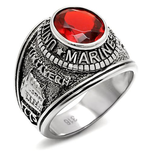 United States Marines Military Ring in Stainless Steel