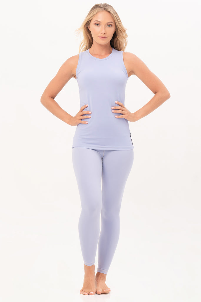 Gravity Tank Top | Light Blue Aquamarine