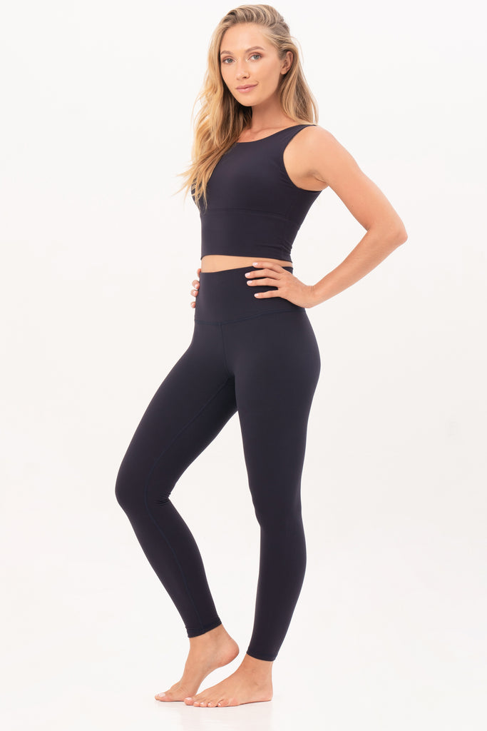 Gravity Signature Leggings | Deep Blue Moonstone