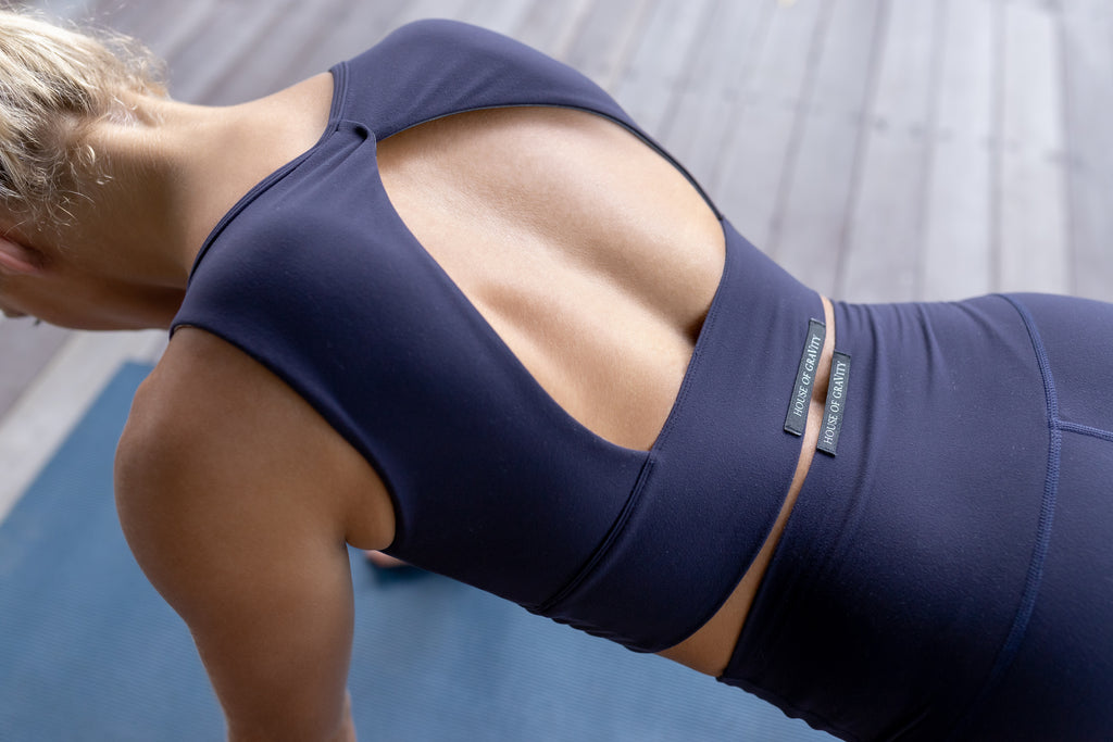 Gravity Balance Bra | Deep Blue Moonstone