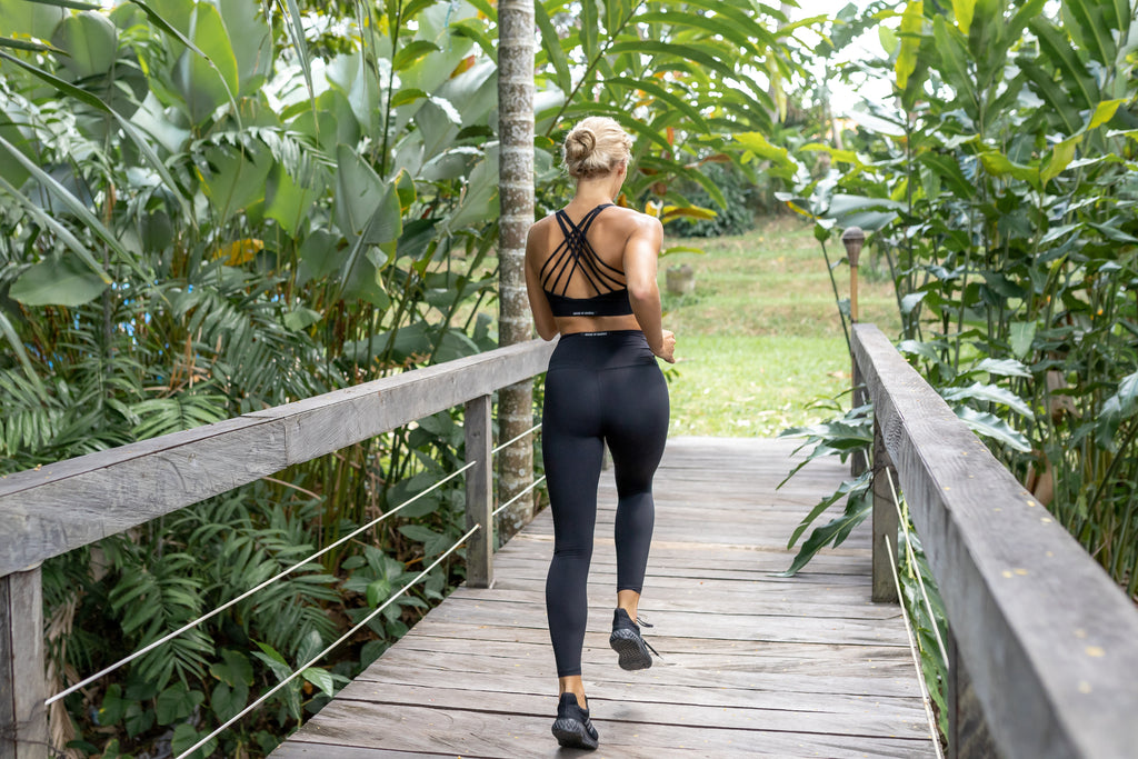 Gravity Signature Leggings | Black Sapphire