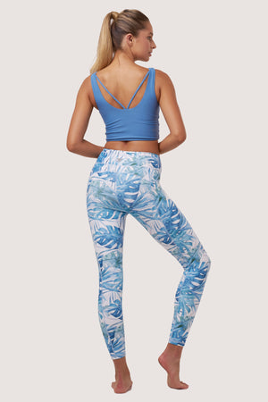 Galaxy Tights | Palm Print