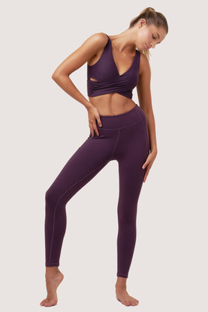 Basic Gravity Tights | Purple Amethyst
