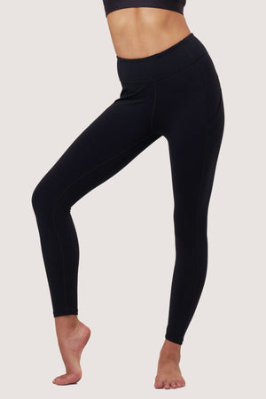 Basic Gravity Tights | Black Sapphire