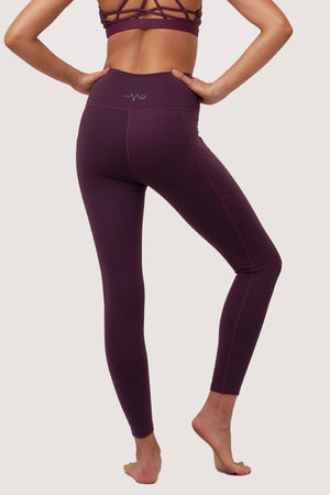 Galaxy Mesh Tights | Purple Amethyst - House of Gravity