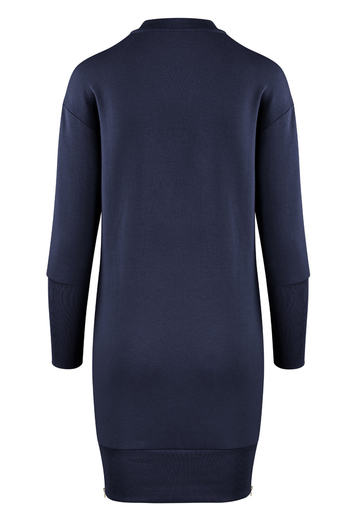 Gravity Two-way Sweater | Deep Blue Moonstone