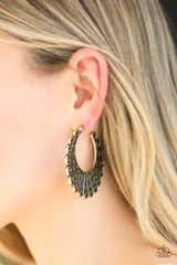 Funky Flirt Paparazzi Accessories Hoop Earrings
