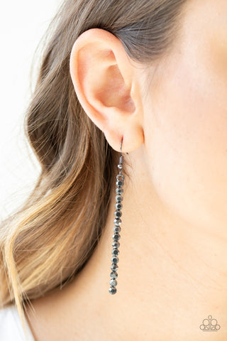 Grunge Meets Glamour Paparazzi Accessories Earrings