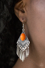 Paparazzi Accessories - Mostly Monte Zumba Earrings