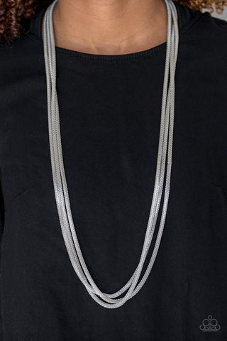 Street Sweep Necklace with Earrings