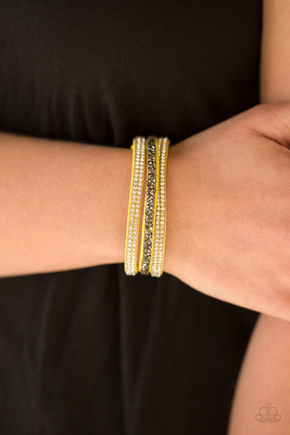 Yellow Mega Glam Bracelet