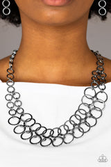 Metro Maven Paparazzi Accessories Necklace with Earrings