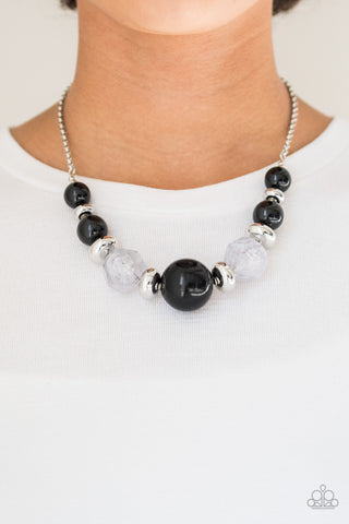 Daytime Drama Paparazzi Accessories Necklace with Earrings