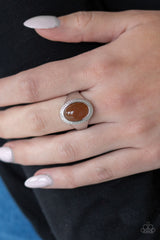 Mystically Malibu Paparazzi Accessories Ring