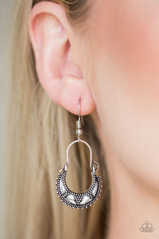 Industrially Indigenous Paparazzi Accessories Earrings