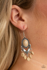 Southern Sandstone Paparazzi Accessories Earrings