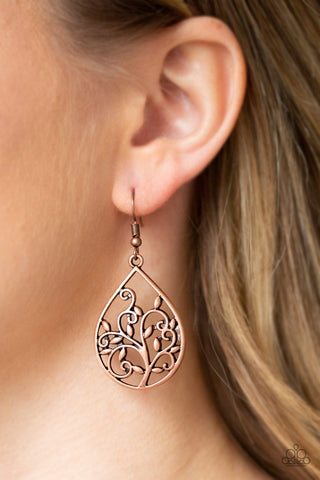 Enchanted Vines Paparazzi Accessories Earrings