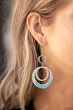 Dizzying Deserts Paparazzi Accessories Earrings