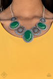 The Medallion-aire Paparazzi Accessories Necklace with Earrings