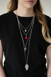 Grounded in Artifact Paparazzi Accessories Necklace with Earrings