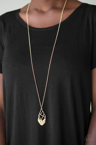 Swank Bank Paparazzi Accessories Necklace with Earrings