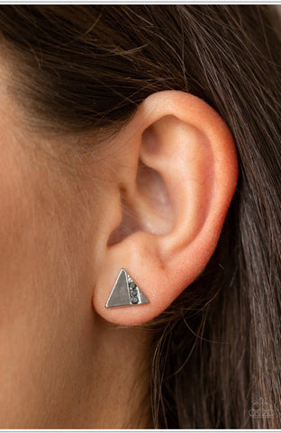 Pyramid Paradise Paparazzi Accessories Earrings