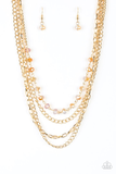 Extravagant Elegance Paparazzi Accessories Necklace with Earrings