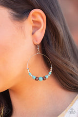 Serenely Southwestern Paparazzi Accessories Earrings