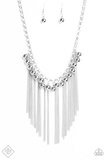 Powerhouse Prowl Paparazzi Accessories Necklace with Earrings