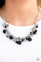A Pop Of Posh Necklace With Earrings