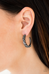 Glittery Galaxy  Paparazzi Accessories Hoop Earrings