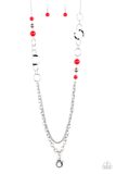 Modern Motley Paparazzi Accessories Lanyard with Earrings