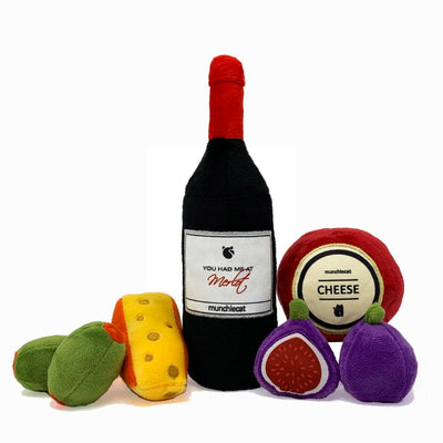 Munchiecat Wine & Cheese Deluxe (7-pc)