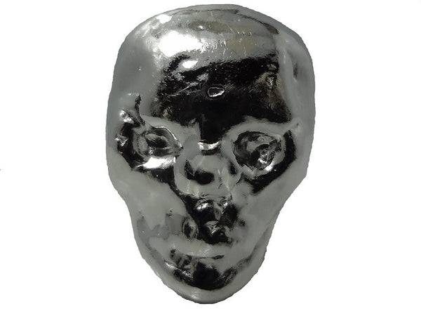 1/2 troy oz .999 fine silver bullion Alien Skull