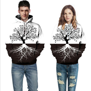 3d Printing Loose Hooded Sweatshirt (4369724047500)