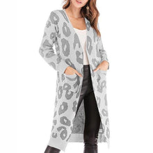 Load image into Gallery viewer, Leopard Print Long Sleeve Cardigan (4369641439372)