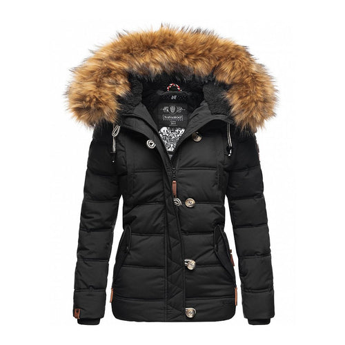 Women Winter Coat Slim Fit Parkas Down Jacket (4370002673804)