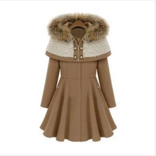 Load image into Gallery viewer, Fashion Woolen Jacket Slim Fit Coats Mid-length (4369189830796)