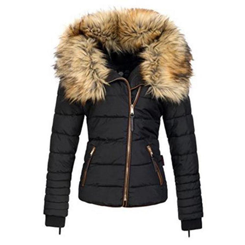 Women Casual Plus Size Warm Winter Coat (4365971914892)