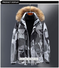 Load image into Gallery viewer, Down jacket, wind tool, male expedition, couple, female, long coat (4366346354828)