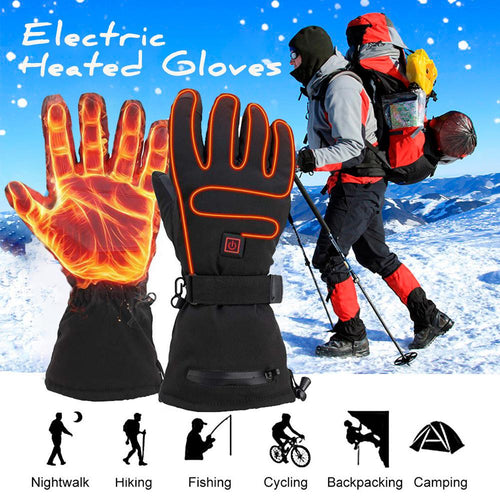 (Christmas Sale-50%Off) - Smart Temperature-Electric Heated Gloves(Unisex)