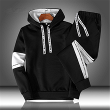 Load image into Gallery viewer, Autumn Winter Hooded Sweatshirt Outfit (4369753473164)