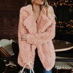 Women Warm Plush Winter Coat (4370031149196)
