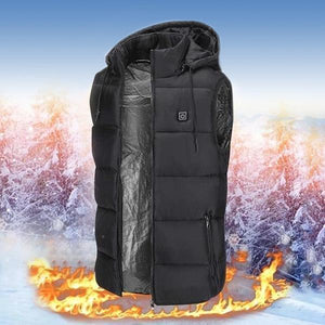 2019-Waterproof & Lightweight Unisex Warming Heated Vest Down Jacket (50% OFF+Free Shipping) (4365000245388)