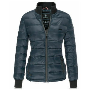Women Winter Quilted Bomber Jacket XS-2XL (4370000248972)